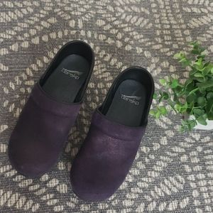 Purple Dansko clogs. Size 36